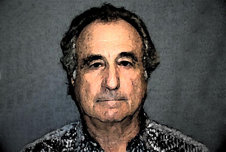 Bernard Madoff Watercolor Portrait