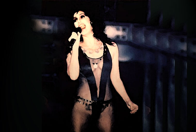 Cher Watercolor Portrait