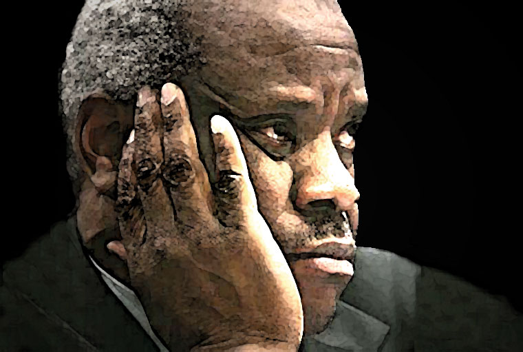 Clarence Thomas Watercolor Portrait