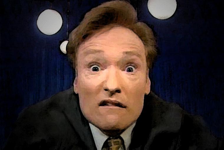 Conan O'Brien Watercolor Portrait