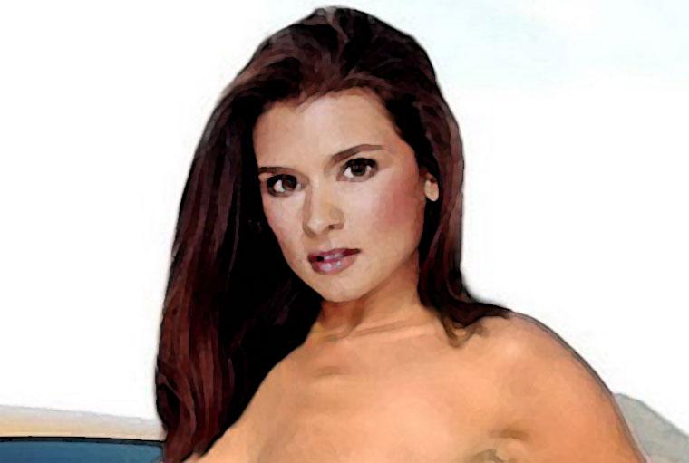 Danica Patrick Watercolor Portrait