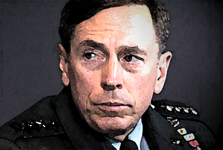 David Petraeus Watercolor Portrait