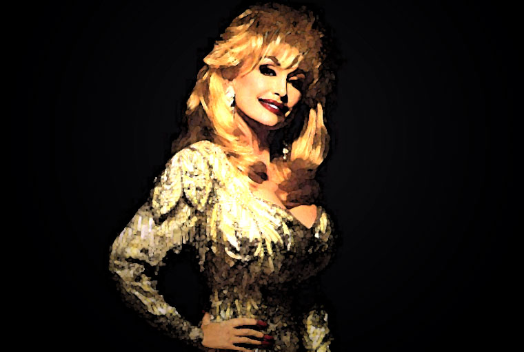 Dolly Parton Watercolor Portrait