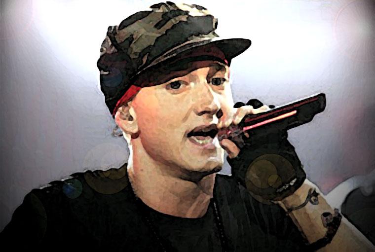 Eminem Watercolor Portrait