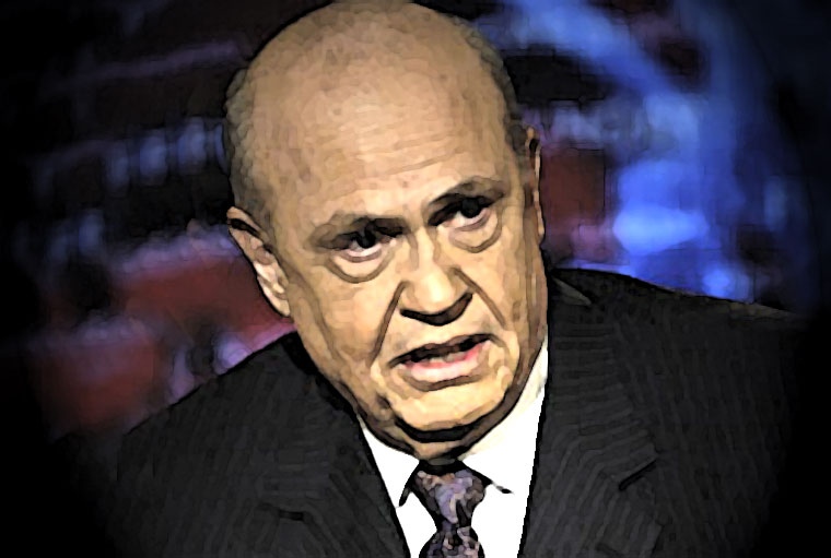 Fred Thompson Watercolor Portrait