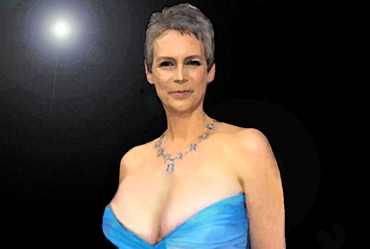 Jamie Lee Curtis Watercolor Portrait
