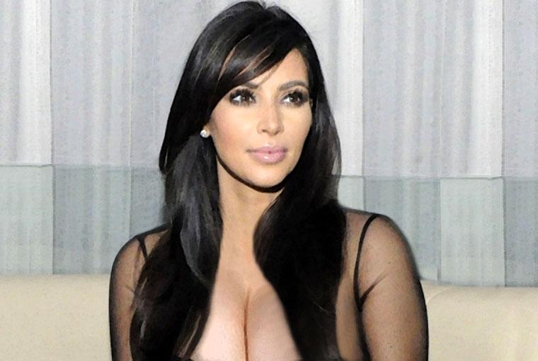 Kim Kardashian Watercolor Portrait
