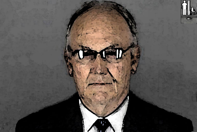 Larry Craig Watercolor Portrait