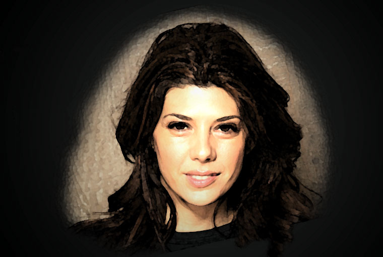 Marisa Tomei Watercolor Portrait