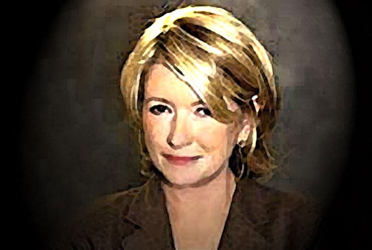 Martha Stewart Watercolor Portrait