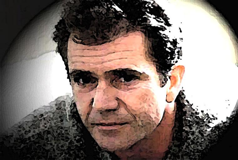 Mel Gibson Watercolor Portrait