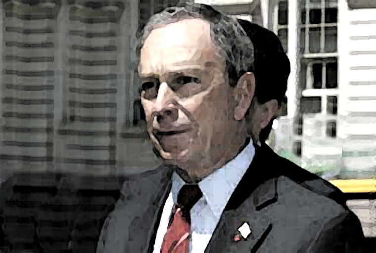 Michael Bloomberg Watercolor Portrait