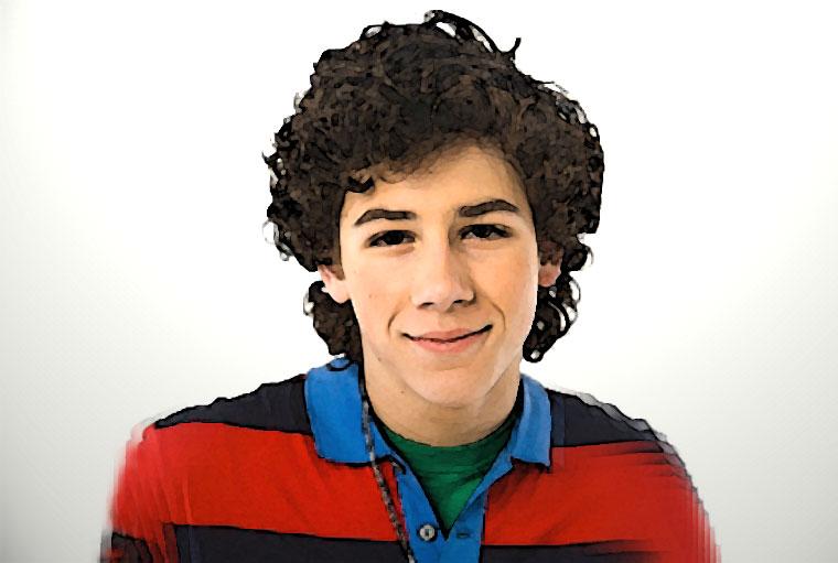 Nick Jonas Watercolor Portrait
