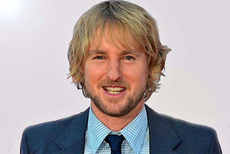 Owen Wilson Watercolor Portrait
