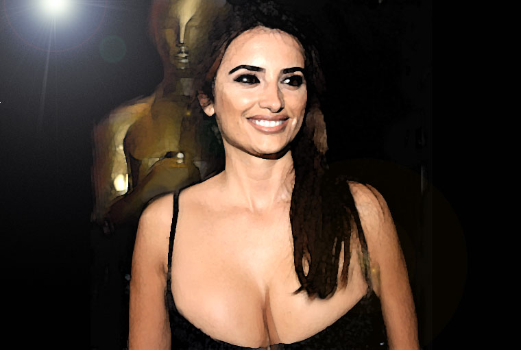 Penelope Cruz Watercol...