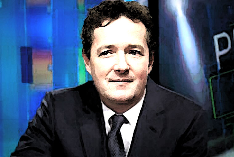 Piers Morgan Watercolor Portrait