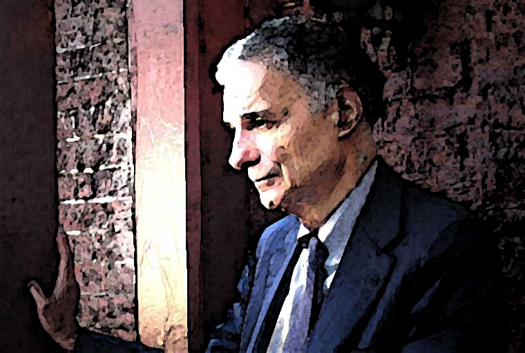 Ralph Nader Watercolor Portrait
