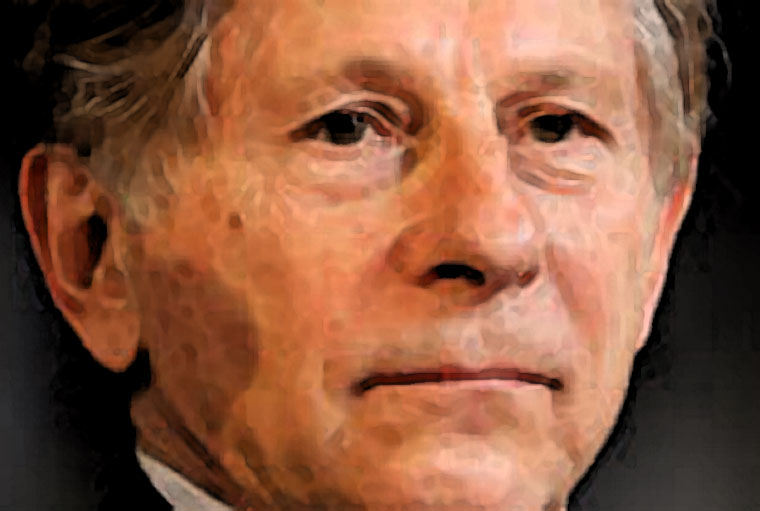 Roman Polanski Watercolor Portrait