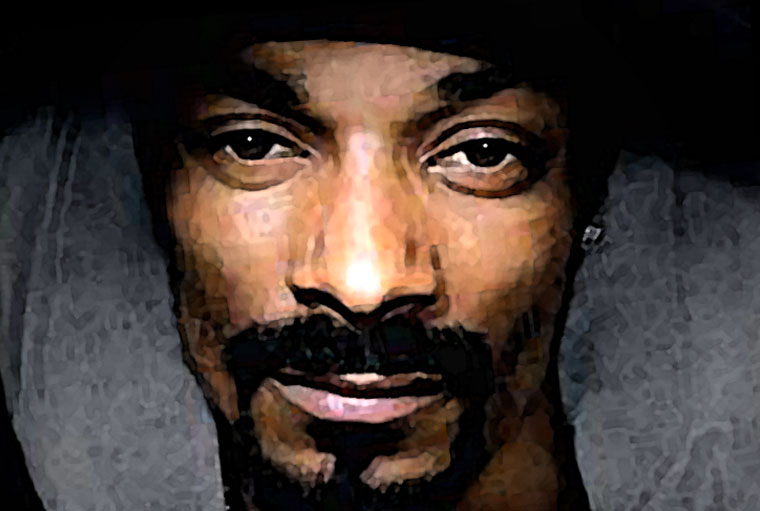 Snoop Dogg Watercolor Portrait