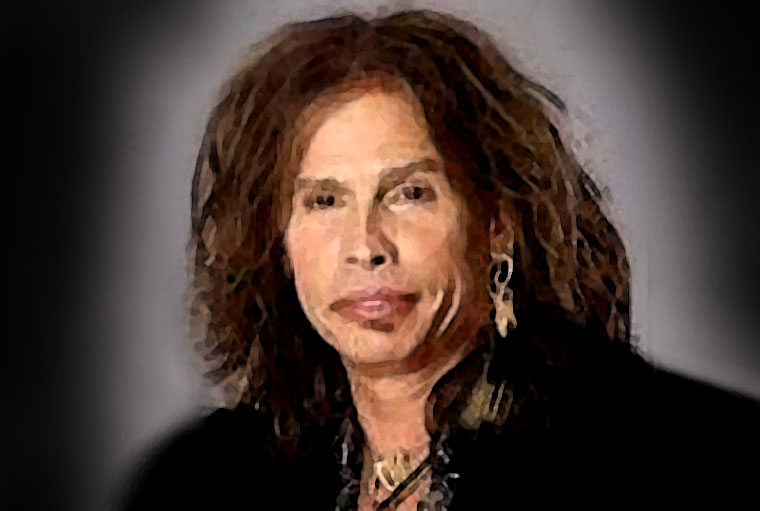 Steven Tyler Watercolor Portrait