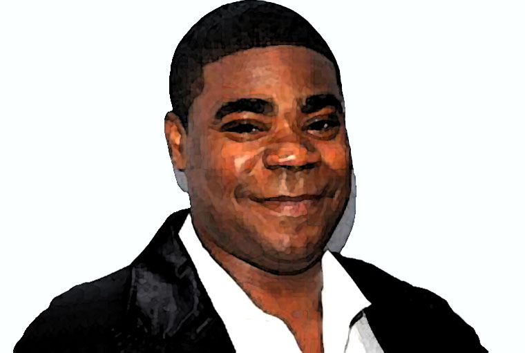 Tracy Morgan Watercolor Portrait